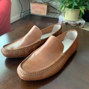 Cole Haan Tan Leather Slip-ones